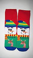 """Новогодние носки женские Бесшовные , зимние, махровые внутри, высокие,  хлопок """"EKMEN """""""