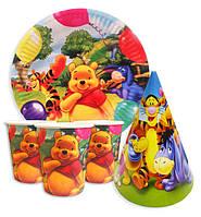 Набор для празднования детского дня рождения Винни Пух