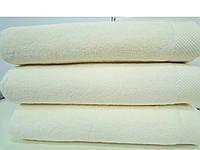 Полотенце махровое банное 85*150 микрокотон крем Maison D'or