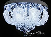 Потолочный светильник с пультом, 7ламп