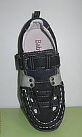 Туфли летние для мальчика кожаные, 26-32