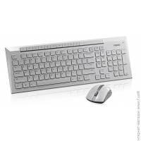 Комплект (клавиатура И Мышь) Rapoo Wireless 8200p, White