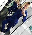 Женский костюм, тёплая вязка 50% шерсть 50% акрил, р-р универсальный 42-46, фото 2