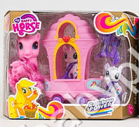 Карета My Little Pony, 4 пони, аксессуары