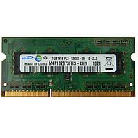 Память ОЗУ DDR3 1Gb PC3-10600S Samsung для НОУТБУКА SO-DIMM 1333MHz