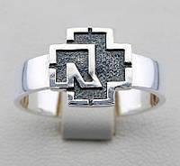 """Rammstein"" серебряное кольцо"