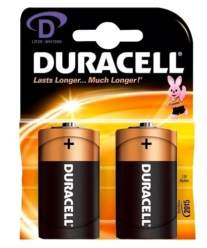 Батарейка DURACELL LR20 Alkaline (1шт)