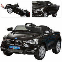 Детский электромобиль M 3105 EBR-2 с мягкими колесами, черный