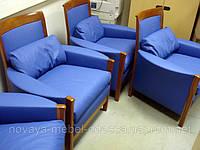 Перетяжка обивки дивана без боковин