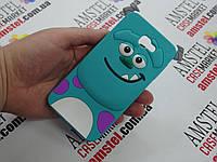 Объемный 3D силиконовый чехол для Samsung Galaxy J5 Prime G570 Салливан