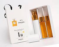 """Подарочный набор 3в1 с феромонами Chanel """"№ 5"""" для женщин"""