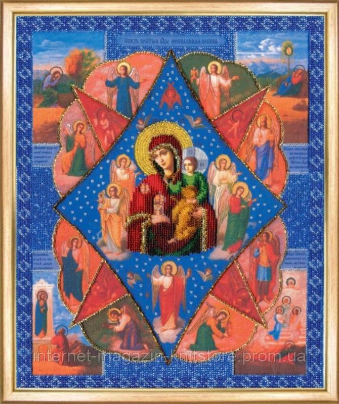 Набор для вышивки бисером Икона Неопалимая купина