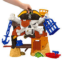 Набор с пиратами Fisher-Price Imaginext Blackbeard's Lair