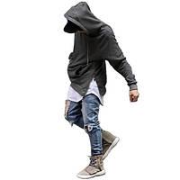 Кофта с капюшоном и боковыми замками Kanye West EXO