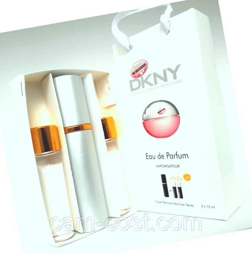 """Подарочный набор с феромонами 3в1 Donna Karan NY """"Be Delicious Fresh Blossom"""" для женщин"""
