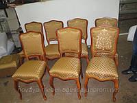 Перетяжка обивки стульев