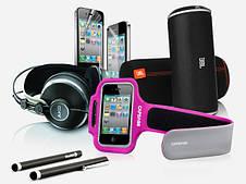 Аксессуары для телефонов и планшетов, чехлы для зарядок, наушников и прочих мелочей