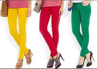 ПРОМО - АКЦИЯ- разноцветные ДЖИНСЫ для девушек
