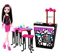 Игровой набор Кафе с  Дракулаурой Monster High Beast Bites Cafe Doll and Playset - Draculaura