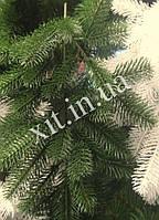Еловая ветка, литая, цвет зеленая