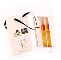 """Подарочный набор 3в1 с феромонами Gucci """"Flora by Gucci"""" для женщин"""