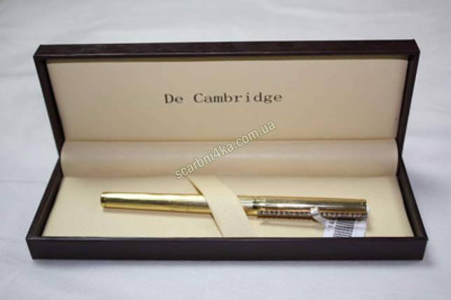 """Ручка капиллярная """"De Cambridge"""" в футляре металлическая, фото 2"""