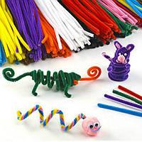 Волшебные плюшевые палочки 100 шт 10 цветов
