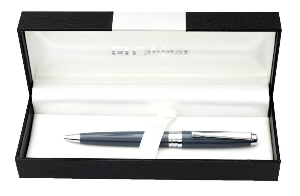 """Ручка шариковая """"Cabinet"""" в футляре поворотная синяя 15377"""
