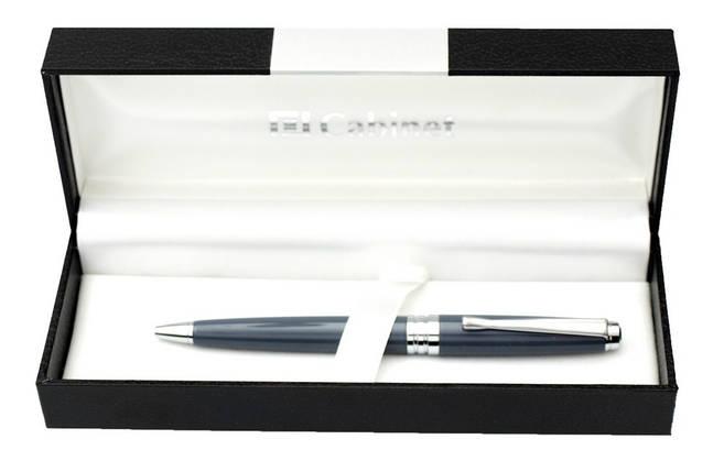 "Ручка шариковая ""Cabinet"" в футляре поворотная синяя 15377, фото 2"