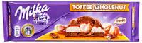 Шоколад Milka Toffee Wholenut