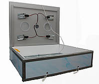 Инкубатор бытовой пластиковый «Наседка ИБМ-140» с механическим переворотом яиц и цифровым терморегулятором., фото 1
