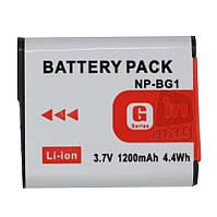 Аккумулятор для фотоаппарата Sony NP-BG1, 1200 mAh.