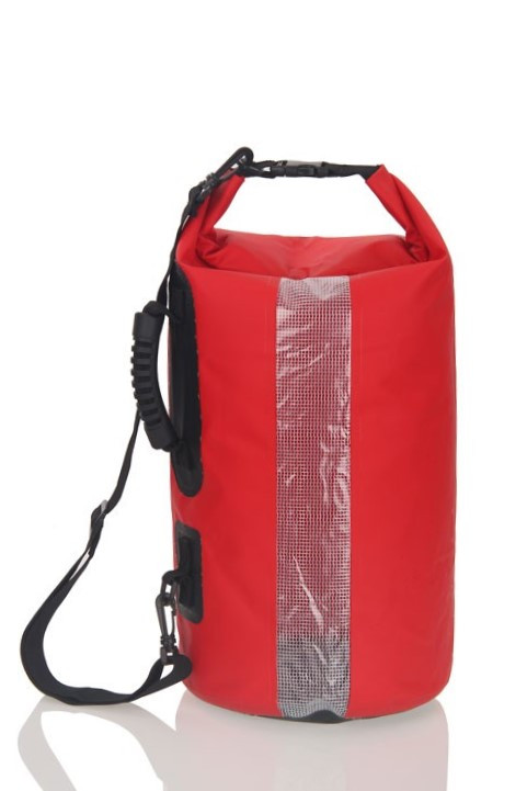 Сумка водонепроницаемая Surfing Camel Red 20L