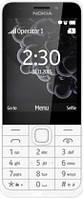 Кнопочный мобильный телефон Nokia 230 Silver White