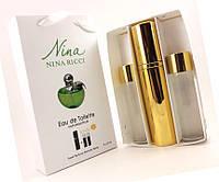 """Подарочный набор 3в1 Nina Ricci """"Nina"""" (зеленое яблоко) для женщин"""