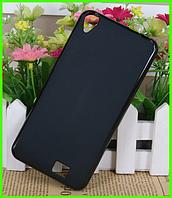 Черный матовый чехол (бампер) для смартфона Homtom ht16/Homtom ht16 pro