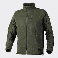 Куртка ALPHA TACTICAL - Grid Fleece - олива ||BL-ALT-FG-02