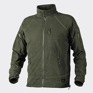Куртка ALPHA TACTICAL - Grid Fleece - олива, фото 2