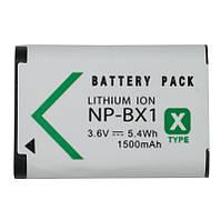 Аккумулятор для фотоаппарата Sony NP-BX1, 1500 mAh.