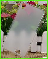 Белый матовый чехол (бампер) для смартфона Homtom ht16/Homtom ht16 pro