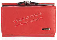 Классический компактный женский кожаный кошелек с мягкой кожи высокого качества DEKESI art. 5103-B красный