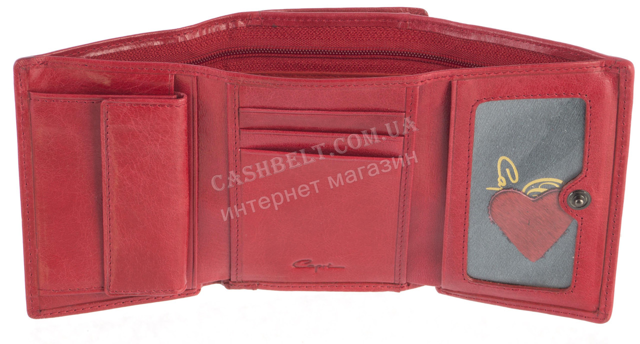 43fff8c824d7 Классический компактный женский кожаный кошелек с мехом нерпы высокого  качества ...