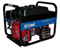 Однофазный бензиновый генератор SDMO SH 6000 E (6 кВт)