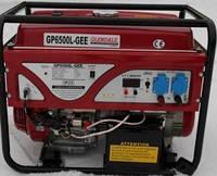 Однофазный бензиновый генератор GLENDALE GP6500L-GEE/1 (6 кВт)