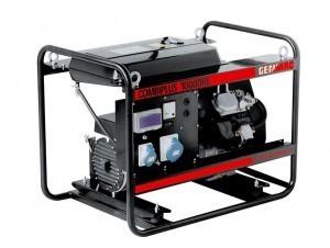 Однофазный бензиновый генератор Genmac Combiplus 10000RE (10 кВт)