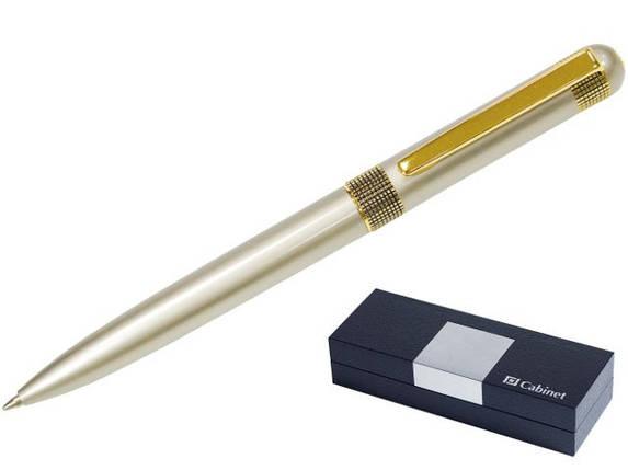 """Ручка шариковая """"Cabinet"""" """"Zurich"""" в футляре поворотная синяя 15959, фото 2"""