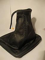 Кожаный Чехол на ручку КПП для Приора, фото 1