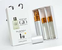 """Подарочный набор 3в1 с феромонами Giorgio Armani """"Acqua di Gio for Men"""" мужской"""