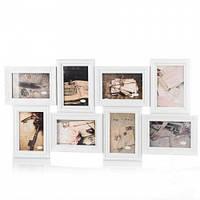 Фотоколлаж для 8 фотографий  (69*36 см) пластик