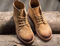 Женские ботинки на шнурках